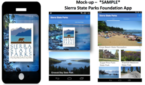 Mobile App: All parks in the Lake Tahoe – Donner region