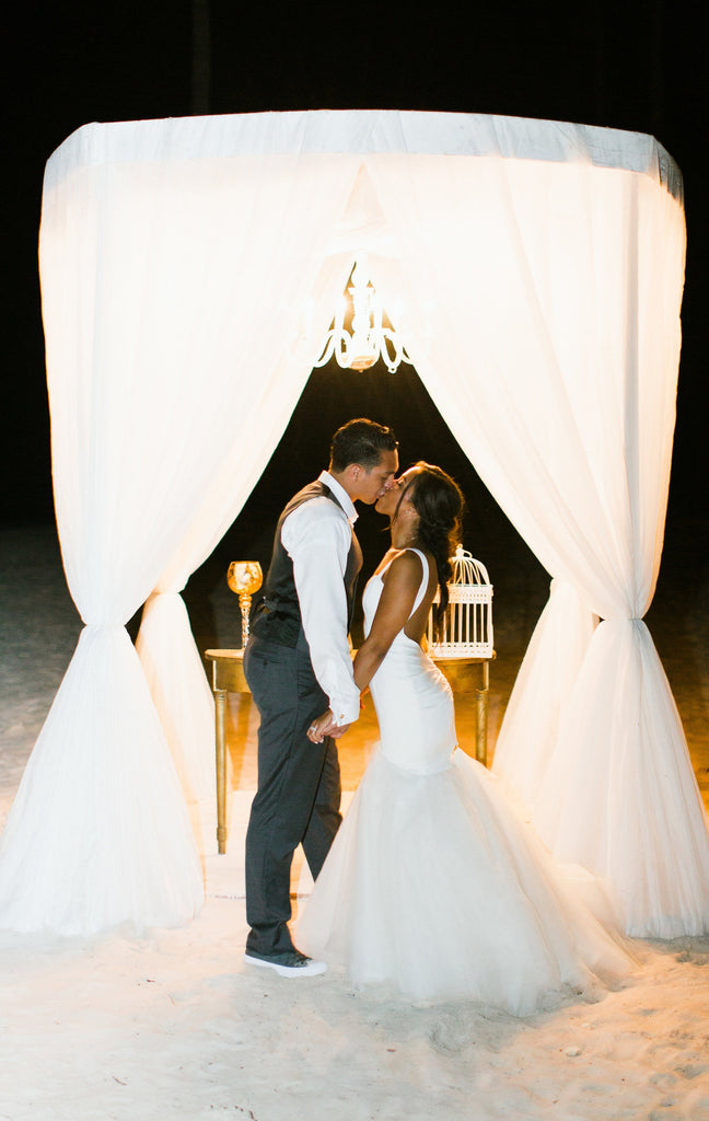 Destination wedding in Dominican respublic