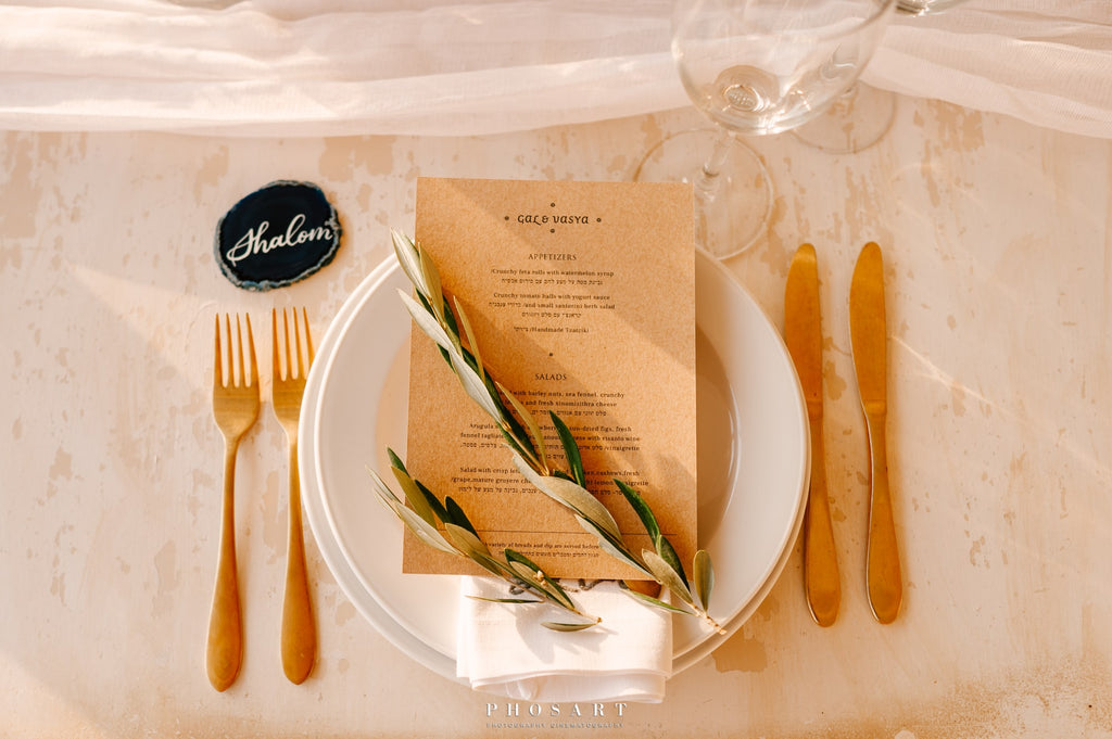 wedding_table_decorations_with_olive_leaves