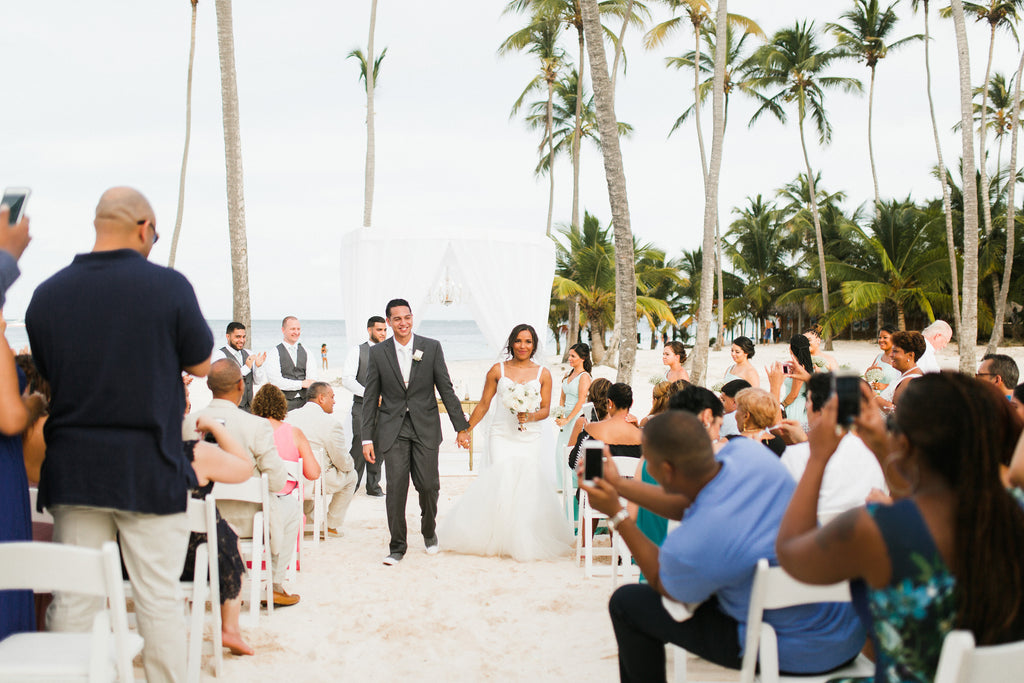 beach wedding in Dominican Respublic