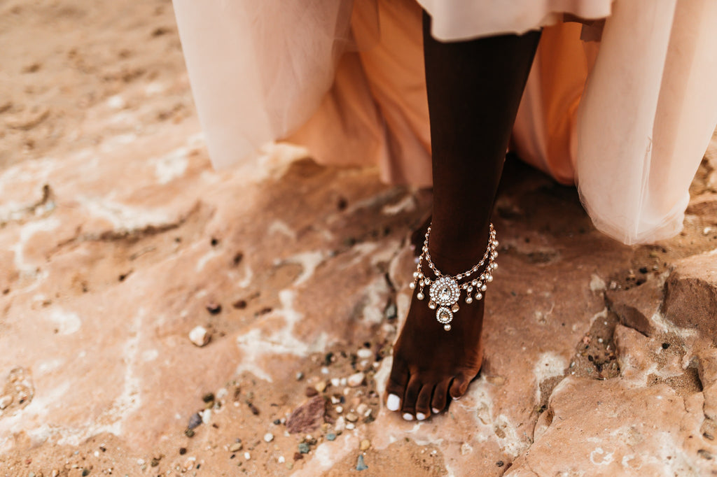 bohemian _pearl_anklets_for_beach_weddings