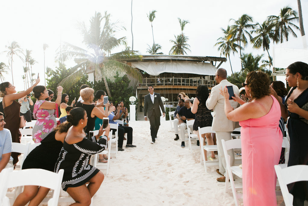 Beach wedding ceremony in Punta Cana