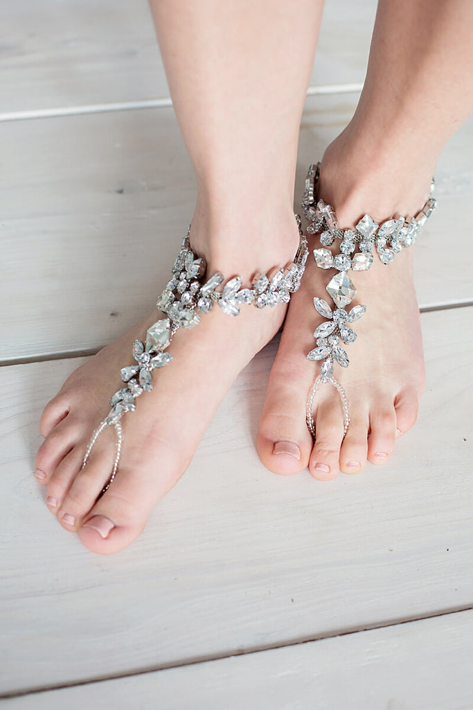 barefoot sandals for wedding
