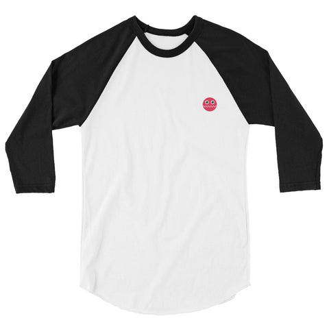 Regular Red Ball 3/4 sleeve raglan shirt