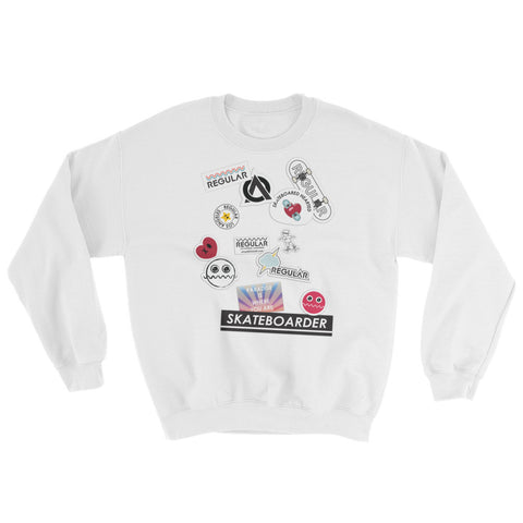 Sticker Sweatshirt
