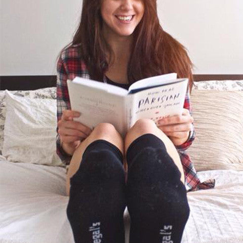 COZY COMPRESSION SOCKS WITH LIVINGBOLDLY.CA: REVIEW