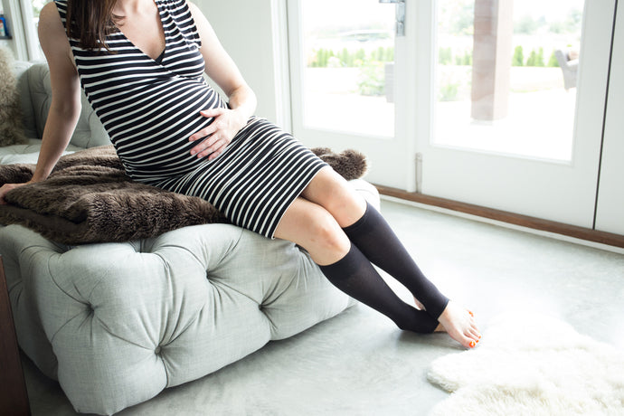 Wearing Compression Socks During Pregnancy
