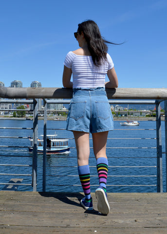 Dr. Segal's Compression Socks for Women - Multi Stripe
