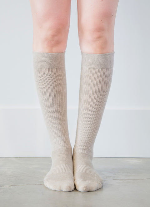 Beige Socks - Women's Medical