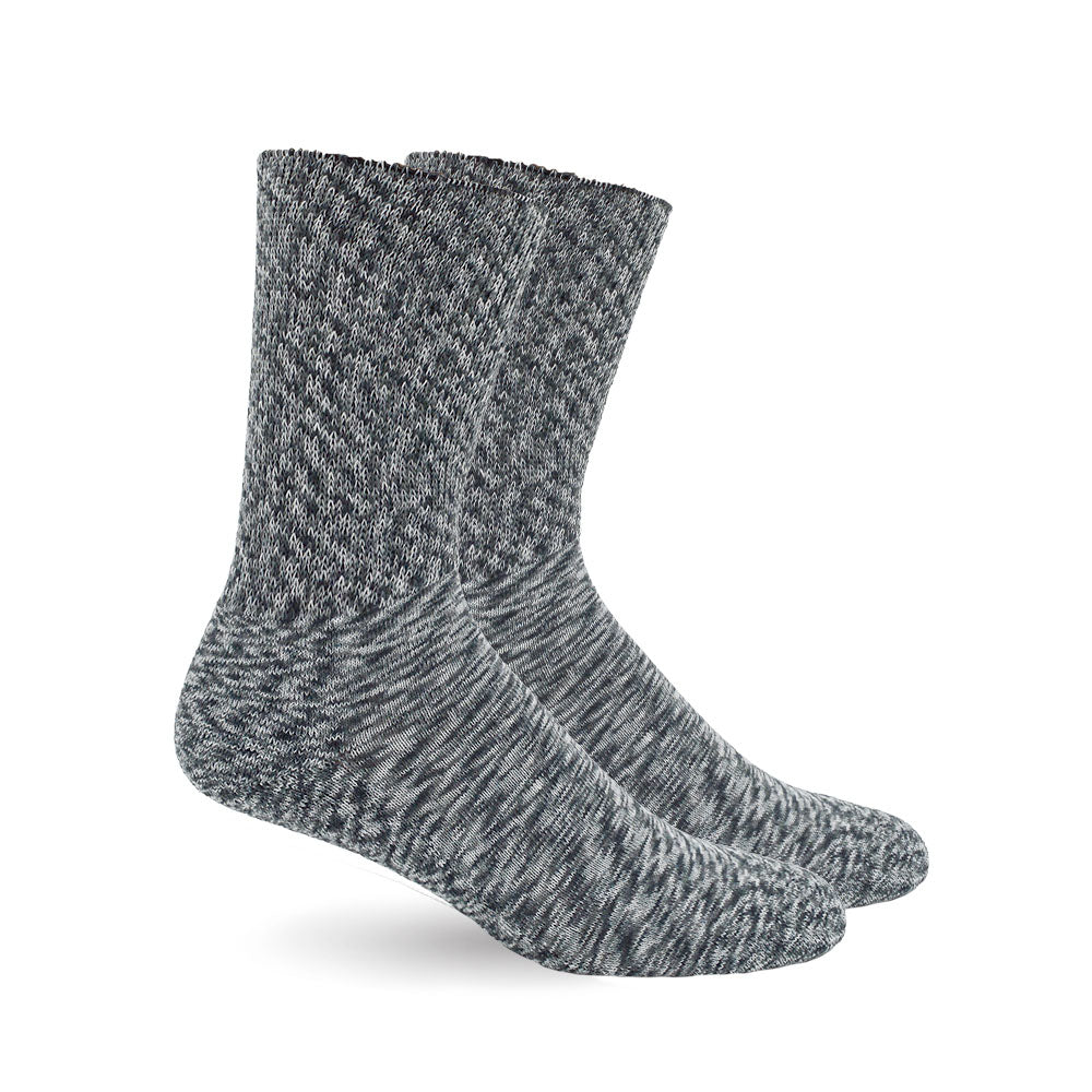 Marble Grey Diabetic Socks