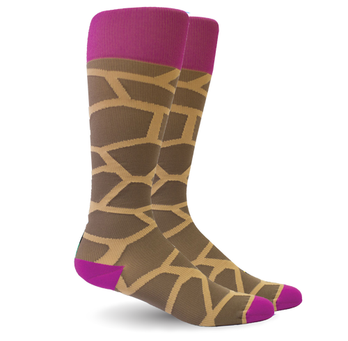 Giraffe Pink/Brown - Women's Medical