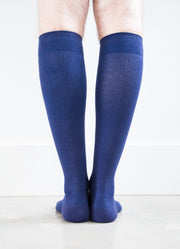 Navy Socks - Men's Medical