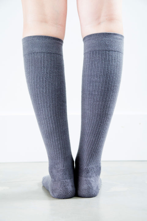 Grey Socks - Women's Medical