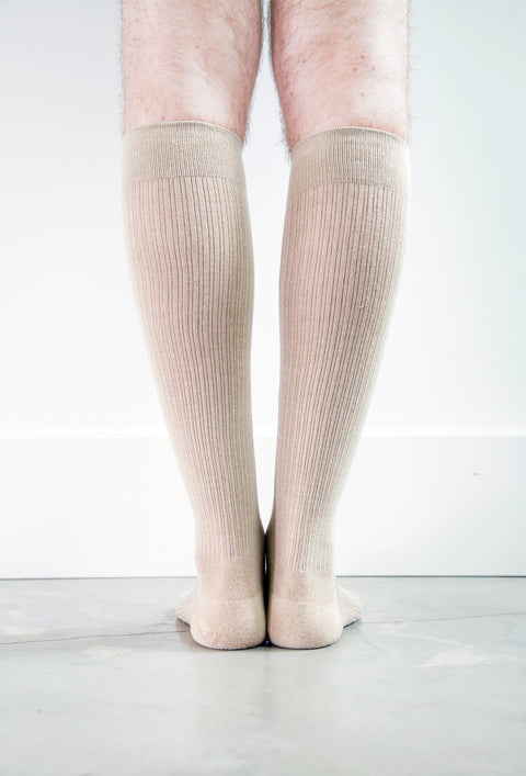 Beige Socks - Men's Medical