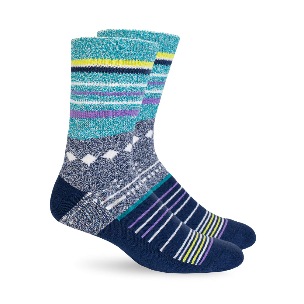 Diabetic Socks - Grey Stars
