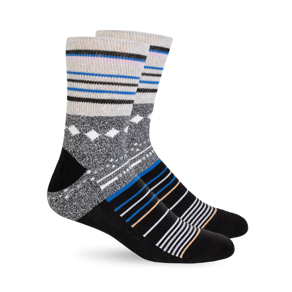 Diabetic Socks - Black Stars