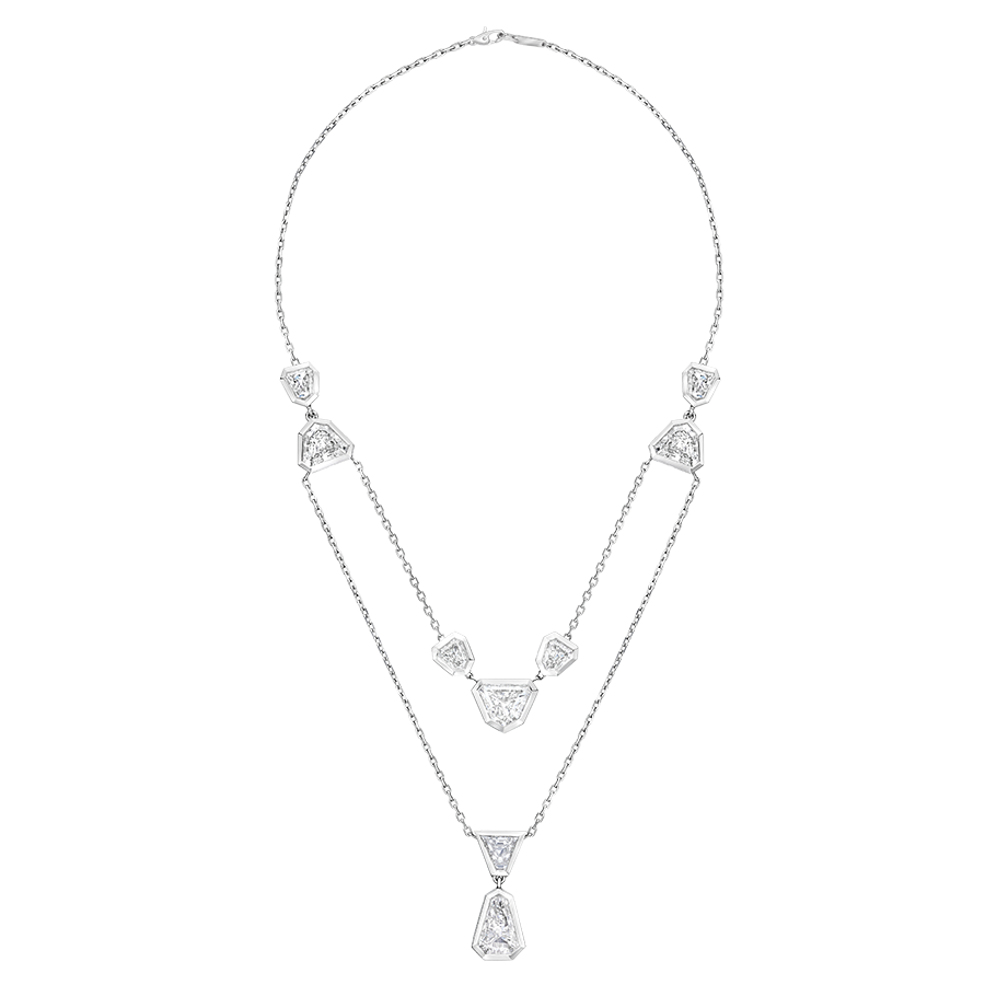 6.5 carat diamond necklace