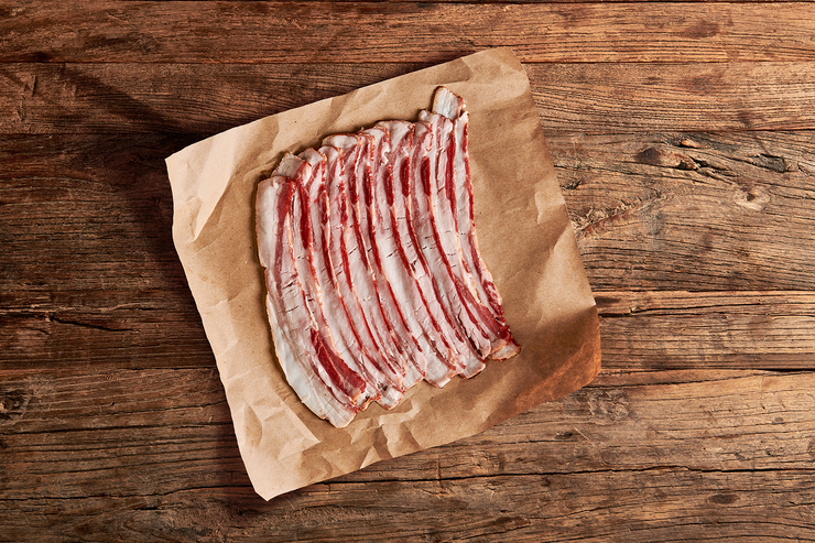 Mangalitsa Hickory Smoked Bacon