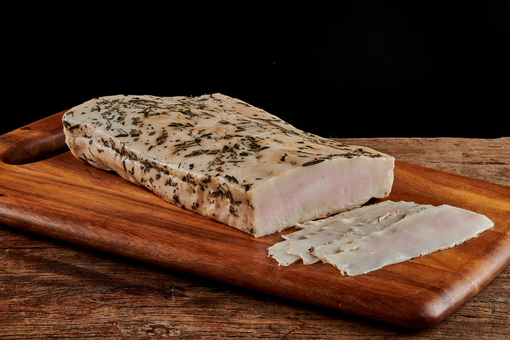 Rosemary Bay Leaf Lardo