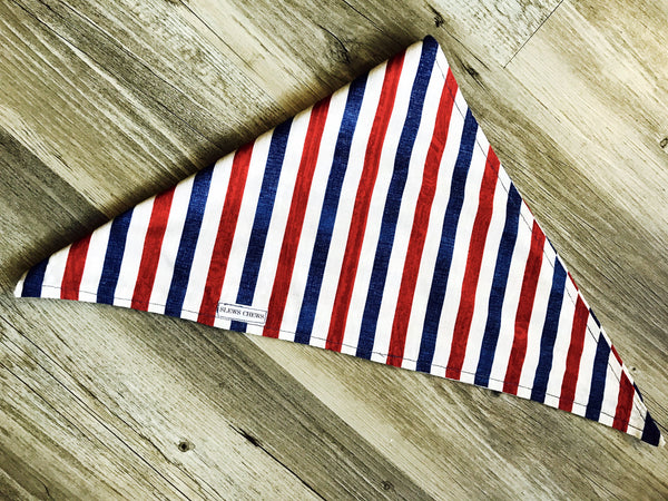 Summer Bandana: Red, White and Slew