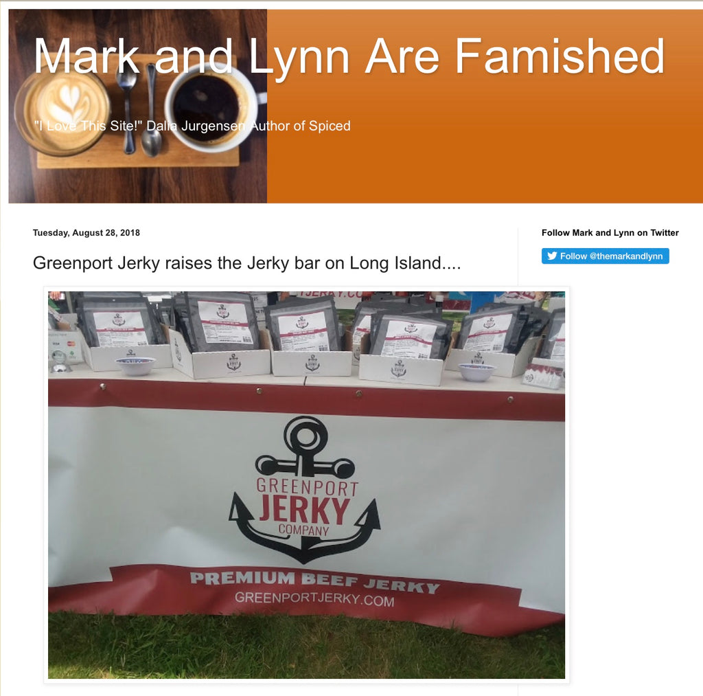 Greenport Jerky raises the Jerky bar on Long Island....