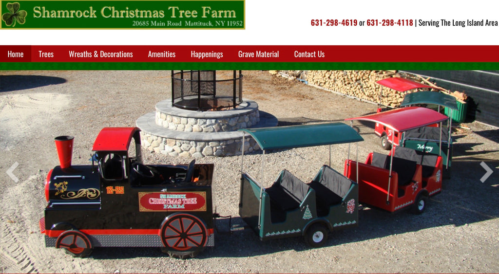 Shamrock Christmas Tree Farm Weekends Nov 24-Dec23 2019