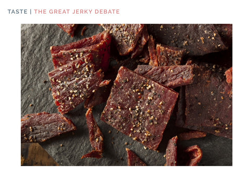 THE GREAT JERKY DEBATE: By The Select 7