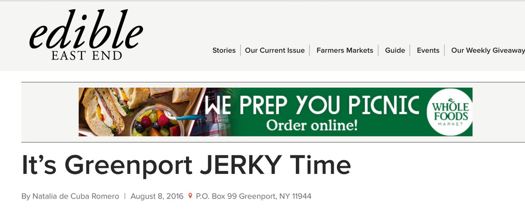 It's Greenport JERKY Time