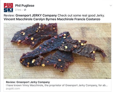 Review: Greenport JERKY Company Check out some real good Jerky.