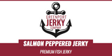 SALMON PEPPERED FISH JERKY
