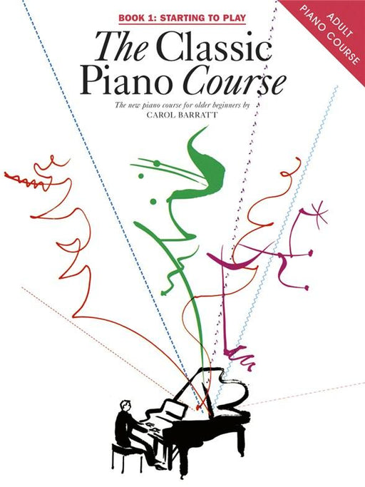 Carol Barret, Classical Piano Course Book 1