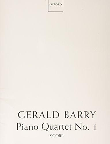 Gearld Barry, Piano Quartet No. 1