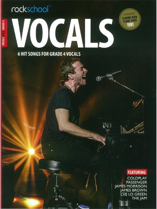Rockschool: Male Vocals Grade 4