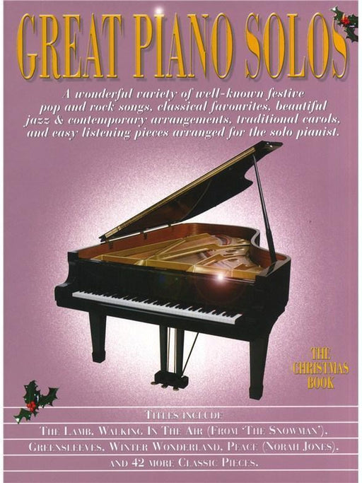 Great Piano Solos Christmas Book