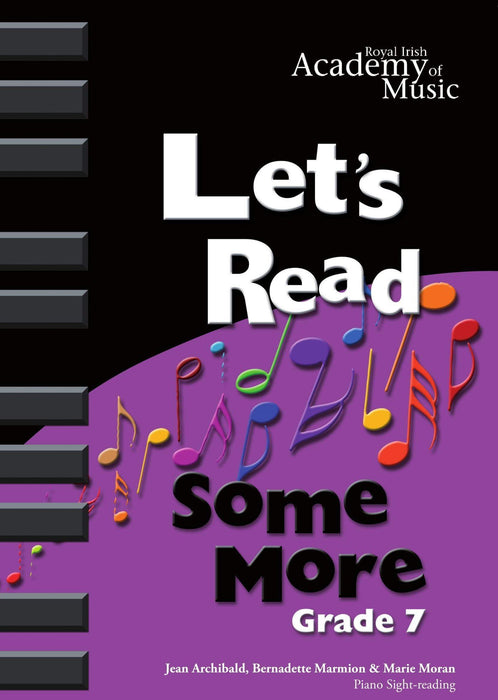RIAM (Royal Irish Academy of Music) - Lets Read Some More Grade 7
