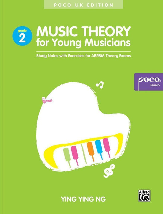 Authored by Ying Ying Ng, this Music Theory for Young Musicians, Grade 2