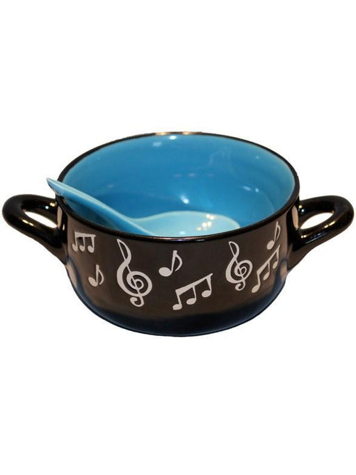 Music Note Bowl (Blue)