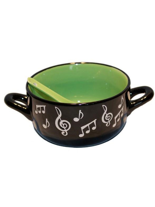 Music Note Bowl (Green)