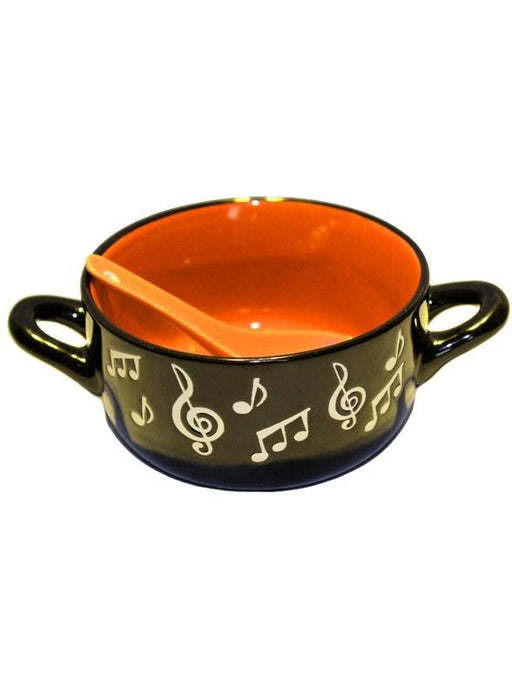 Music Note Bowl (Orange)
