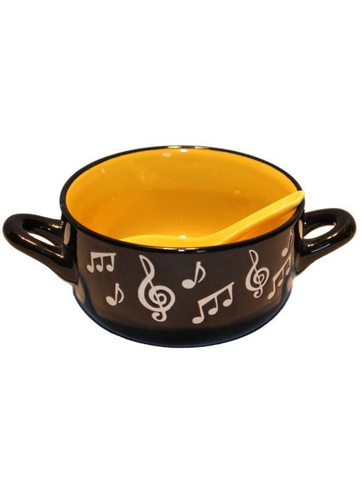Music Note Bowl (Yellow)
