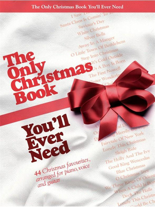 Only Christmas Book you'll ever need PVG