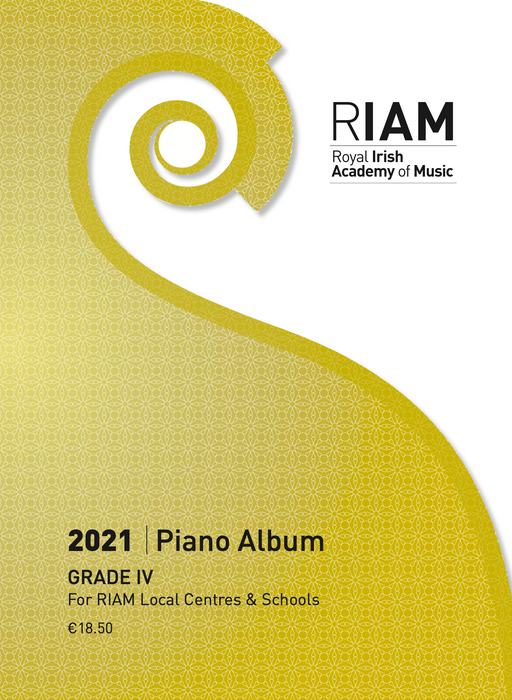 Royal Irish Academy of Music Piano Exam Book 2021  Grade 4