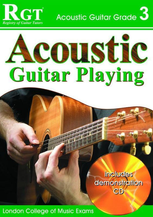 RGT: Acoustic Guitar Playing Grade 3