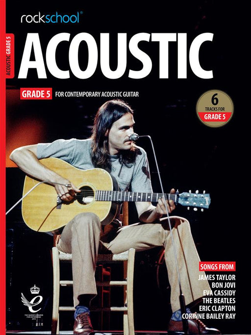 RSL Awards (Rockschool) Acoustic Guitar Grade 5 2019+