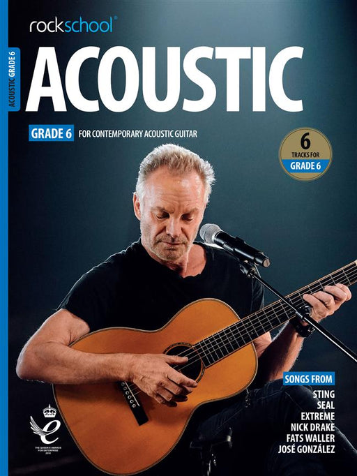 RSL Awards (Rockschool) Acoustic Guitar Grade 6 2019+