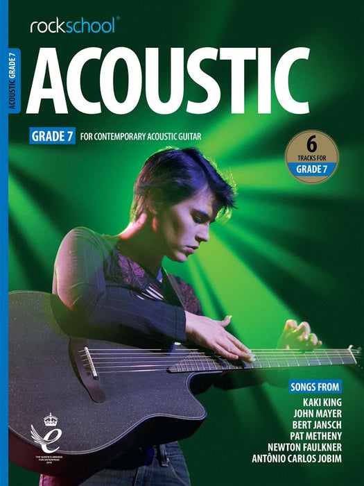 RSL Awards (Rockschool) Acoustic Guitar Grade 7 2019+