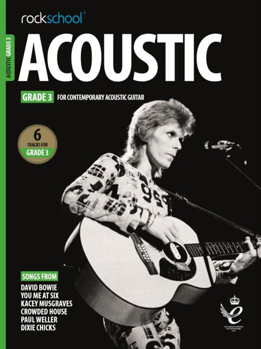 RSL Awards (Rockschool) Acoustic Guitar Grade 3 2019+