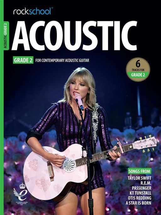 RSL Awards (Rockschool) Acoustic Guitar Grade 2 2019+