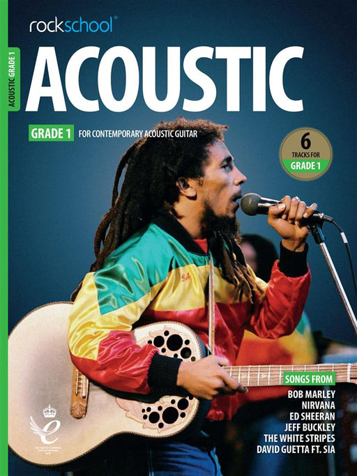RSL Awards (Rockschool) Acoustic Guitar Grade 1 2019+