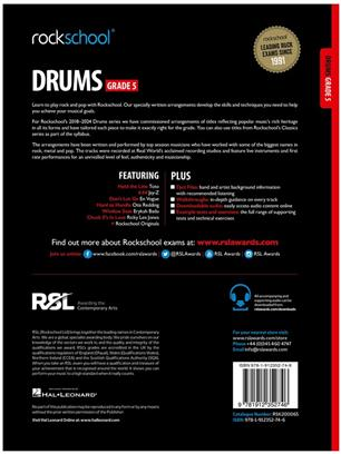 Rockschool Drums Grade 5 2018+